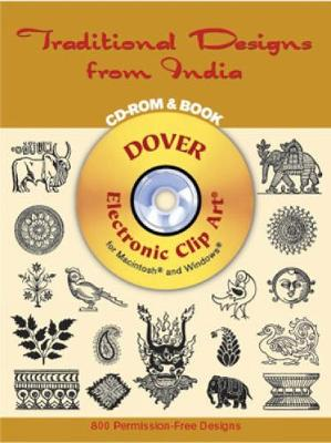 Traditional Designs from India CD-Rom and Book - Dover
