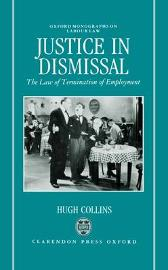 Justice in Dismissal - Hugh Collins