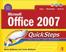Microsoft Office 2007 QuickSteps -