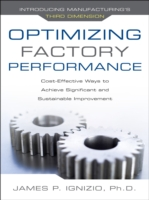 Optimizing Factory Performance - James P. Ignizio