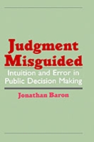 Judgment Misguided - Jonathan Baron