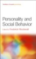 Personality and Social Behavior - Frederick Rhodewalt