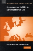 Precontractual Liability in European Private Law - Cartwright/Hesselink