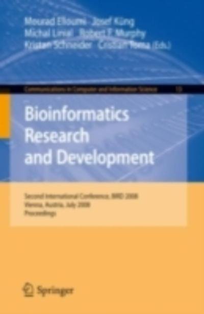 Bioinformatics Research and Development - Mourad Elloumi