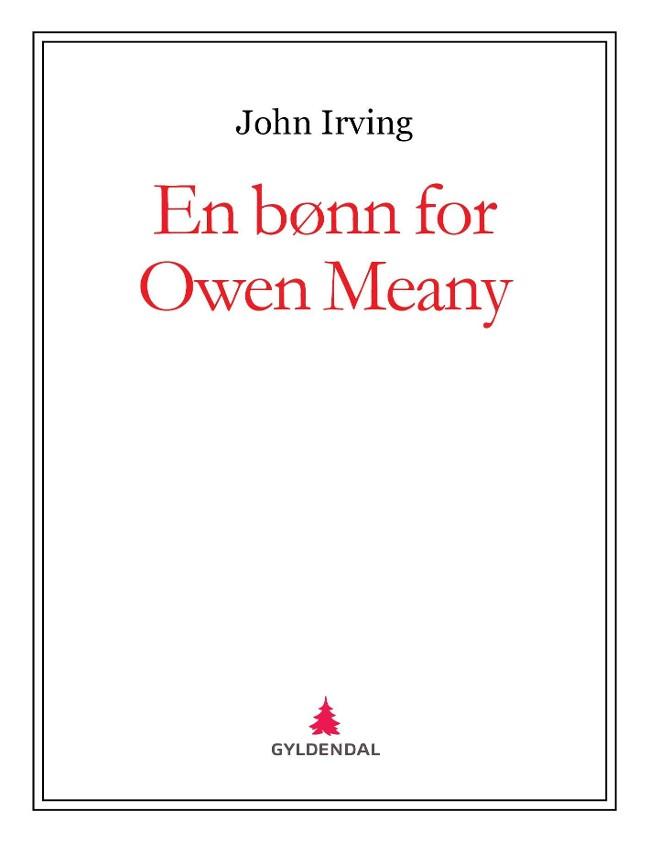 En bønn for Owen Meany PDF ePub