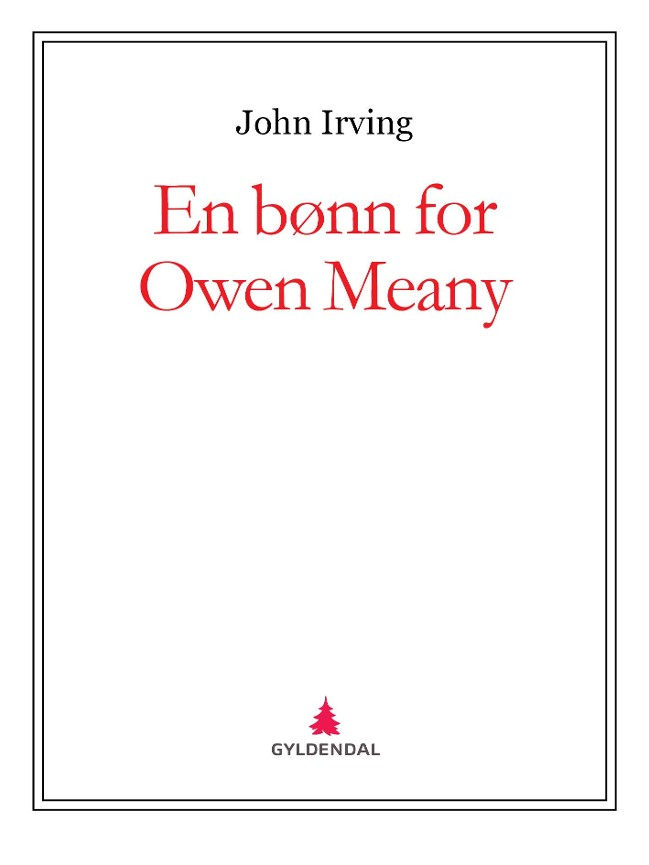 En bønn for Owen Meany - John Irving