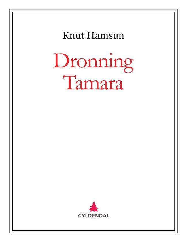 Dronning Tamara PDF ePub