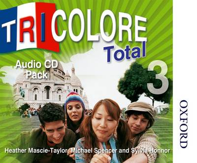 Tricolore Total 3 Audio CD Pack - S Honnor