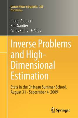 Inverse Problems and High-Dimensional Estimation - Pierre Alquier