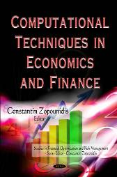 Computational Techniques in Economics & Finance - Constantin Zopounidis