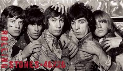 Rolling Stones 40 x 20 - Chris Murray