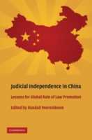 Judicial Independence in China - Peerenboom