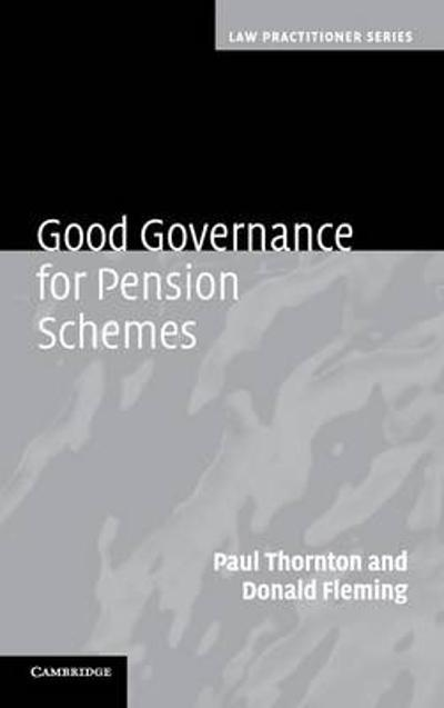 Good Governance for Pension Schemes - Paul Thornton