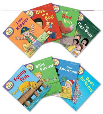 Oxford Reading Tree Read with Biff, Chip, and Kipper: Level 2: Pack of 8 - Roderick Hunt
