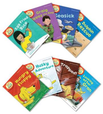 Oxford Reading Tree Read with Biff, Chip, and Kipper: Level 5: Pack of 8 - Roderick Hunt