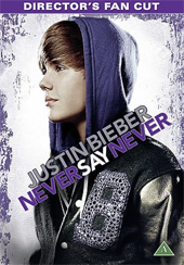 DVD Justin Bieber Never say never -