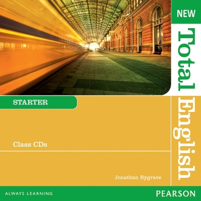 New Total English Starter Class Audio CD - Jonathan Bygrave
