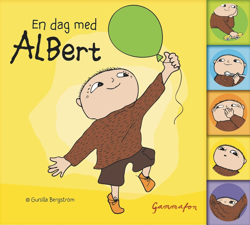 En dag med Albert - Jan Magnusson