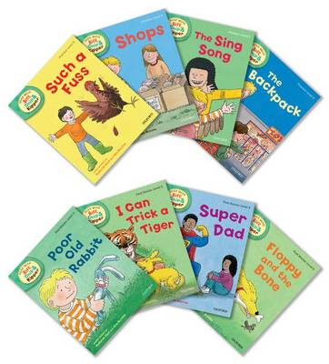 Oxford Reading Tree Read with Biff, Chip, and Kipper: Level 3: Pack of 8 - Roderick Hunt
