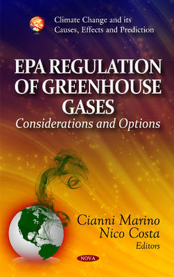 EPA Regulation of Greenhouse Gases - Cianni Marino