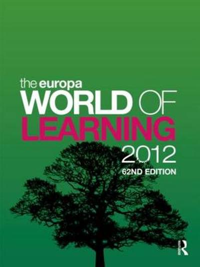 The Europa World of Learning 2012 -