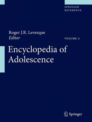 Encyclopedia of Adolescence - Roger J. R. Levesque