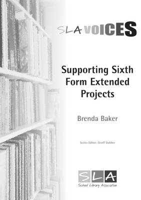 Supporting Sixth Form Extended Projects - 