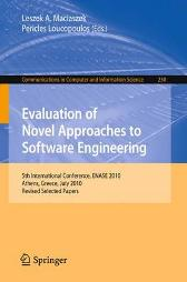 Evaluation of Novel Approaches to Software Engineering - Leszek A. Maciaszek Pericles Loucopoulos
