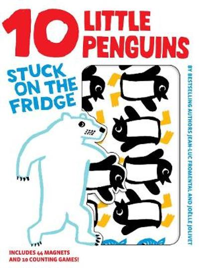 10 Little Penguins Stuck on Fridge - Jean-Luc Fromental