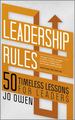 Leadership Rules - Jo Owen
