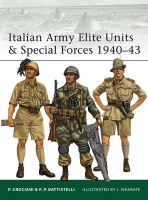 Italian Army Elite Units and Special Forces 1940-43 - Pier Paolo Battistelli