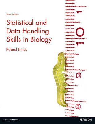 Statistical and Data Handling Skills in Biology - Roland Ennos