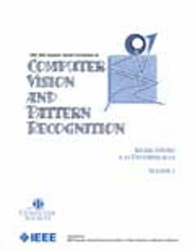 2001 IEEE Computer Society Conference on Computer Vision and Pattern Recognition (CVPR 2001) -