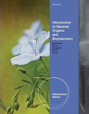 Introduction to General, Organic and Biochemistry, International Edition - 