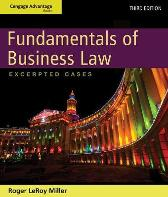 Cengage Advantage Books: Fundamentals of Business Law: Excerpted Cases - Roger LeRoy Miller Gaylord A. Jentz