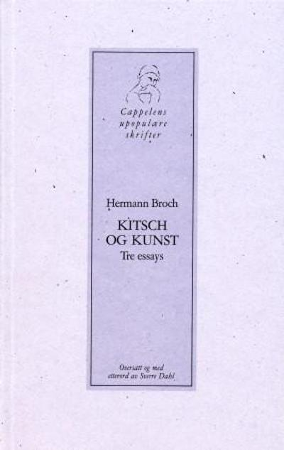 Kitsch og kunst - Hermann Broch