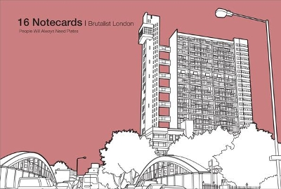 Brutalist London - 16 Notecards - Robin Farquhar