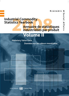 Industrial Commodity Statistics Yearbook 2008 - United Nations: Department of Economic and Social Affairs: Statistics Division