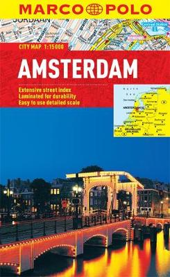 Amsterdam Marco Polo City Map - Marco Polo