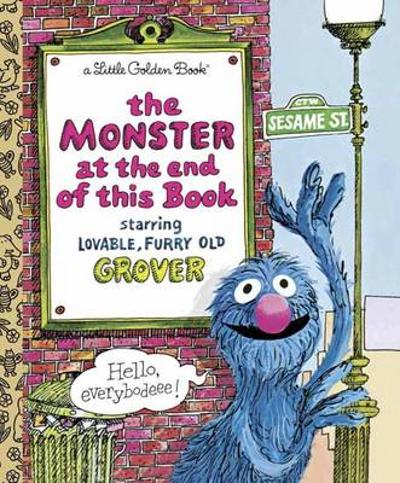 LGB The Monster At The End Of This Book (Sesame Book) - Jon Stone