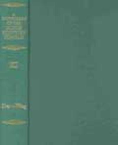 Dictionary of the Older Scottish Tongue from the Twelfth Century to the end of the Seventeenth: Volume 11 (Tra-Waquant) - Margaret G. Dareau