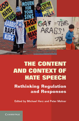 The Content and Context of Hate Speech - Michael Herz