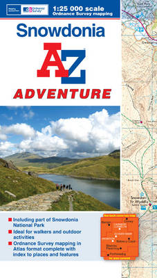 Snowdonia Adventure Atlas - Geographers' A-Z Map Company