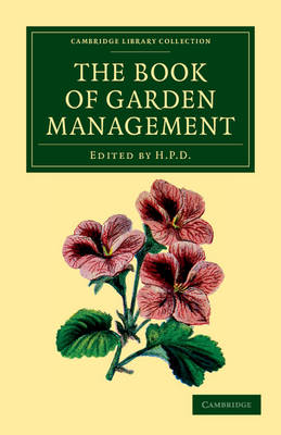 The Book of Garden Management - Anonymous