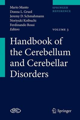 Handbook of the Cerebellum and Cerebellar Disorders - Mario Manto