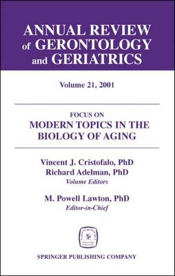 Annual Review of Gerontology and Geriatrics - Richard C. Adelman