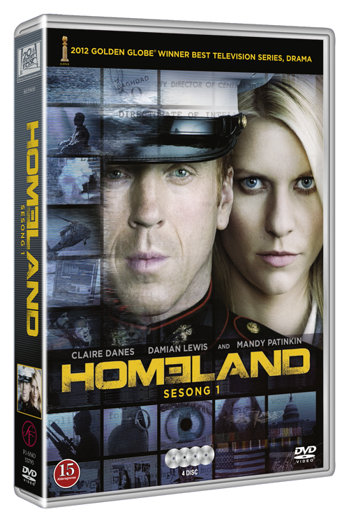DVD Homeland season 1 -