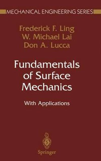 Fundamentals of Surface Mechanics - Frederick F. Ling