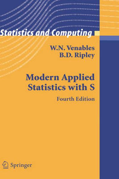 Modern Applied Statistics with S - W.N. Venables