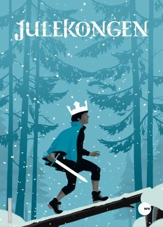 Julekongen. Pop-up julekalender -